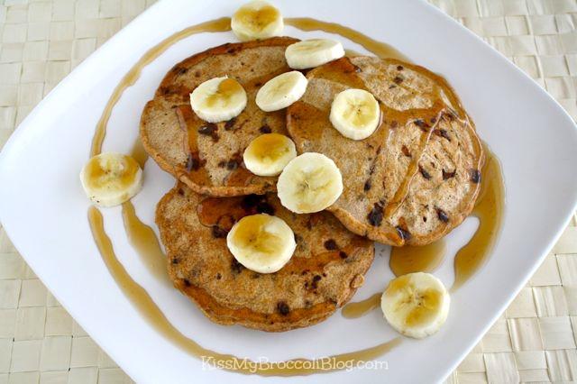 Chocolate Chip Bacon Pancakes 1