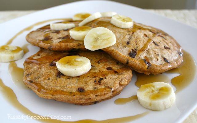 Chocolate Chip Bacon Pancakes 2