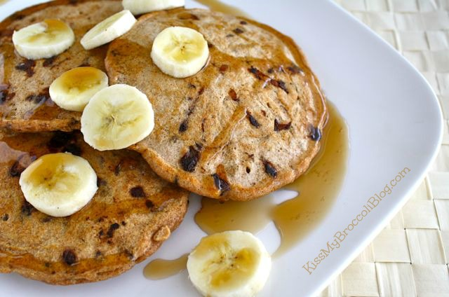 Chocolate Chip Bacon Pancakes 3