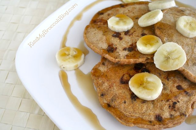 Chocolate Chip Bacon Pancakes 4