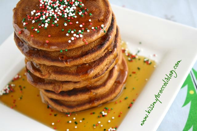 Gingerbread Cookie Pancakes 1