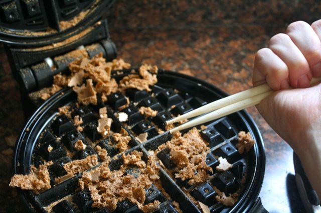 Waffle Fail Chopsticks