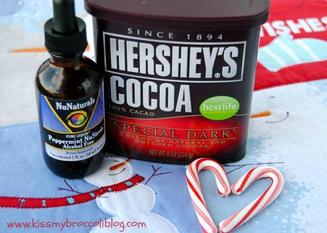 Chocolate Peppermint Cookie Pancakes Ingredients