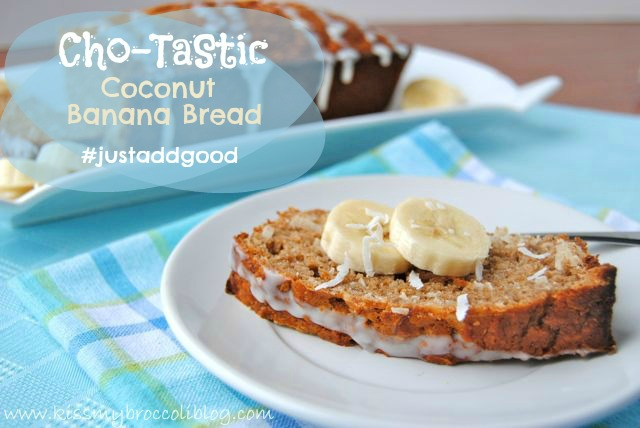 Coconut Banana Bread - TITLE