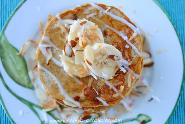 Coconut Banana Pancakes 1