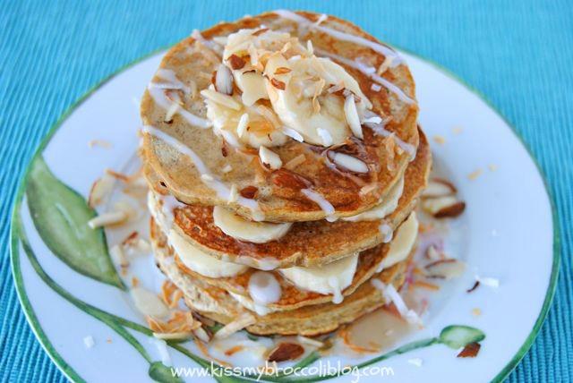 Coconut Banana Pancakes 3
