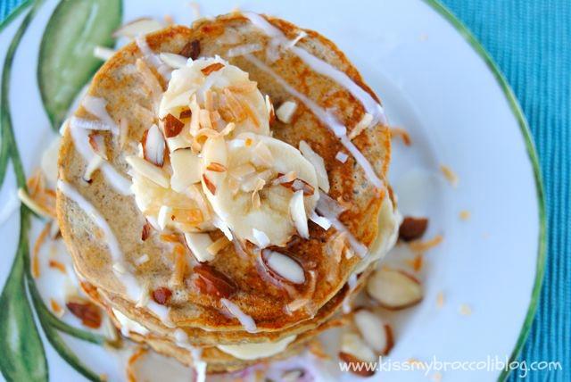 Coconut Banana Pancakes 4
