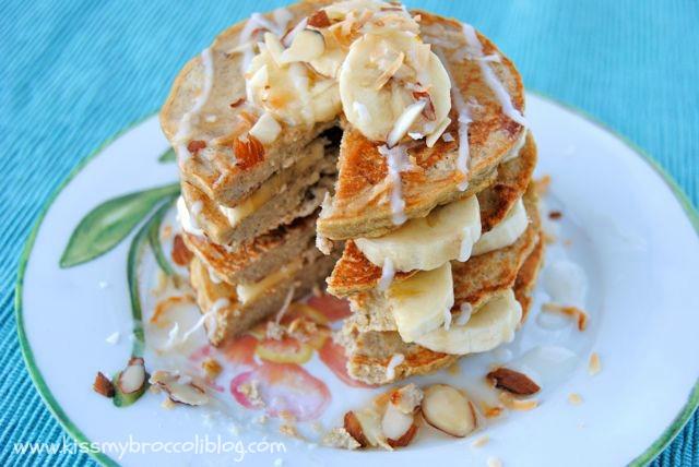 Coconut Banana Pancakes 6