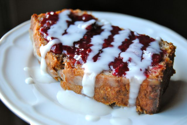 Coconut Banana Bread with Coconut Butter & Jam