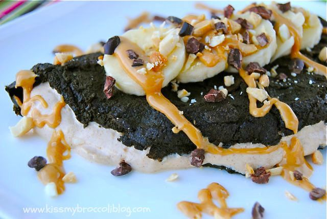 Peanut Butter Cup Omelette  - 4