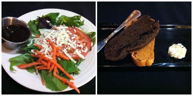 Salad & Bread