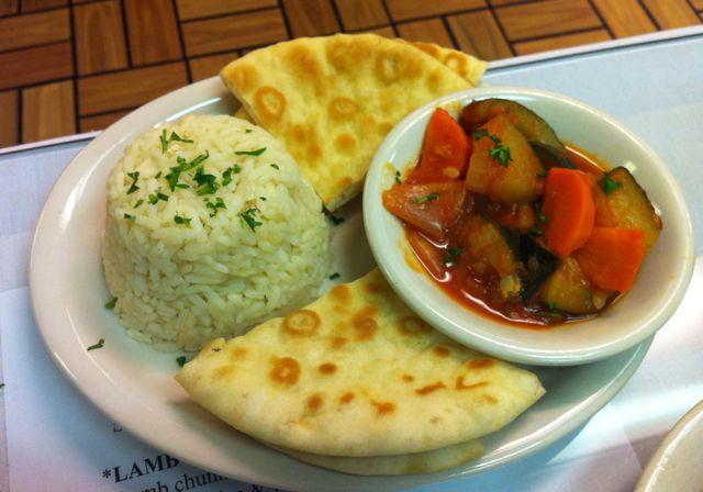 Veggies & Rice
