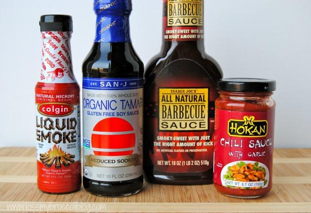 BBQ Teriyaki Stir Fry Ingredients