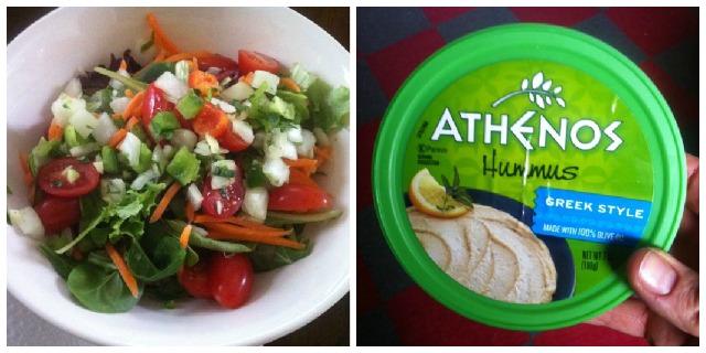 Salad & Hummus
