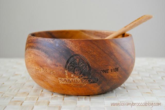Sambazon Bowl with Spoon
