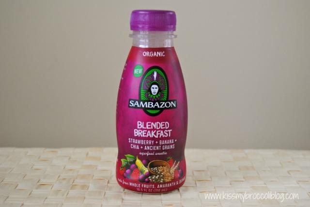 Sambazon Strawberry Banana