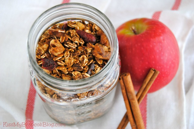 Apple Pie Granola 1