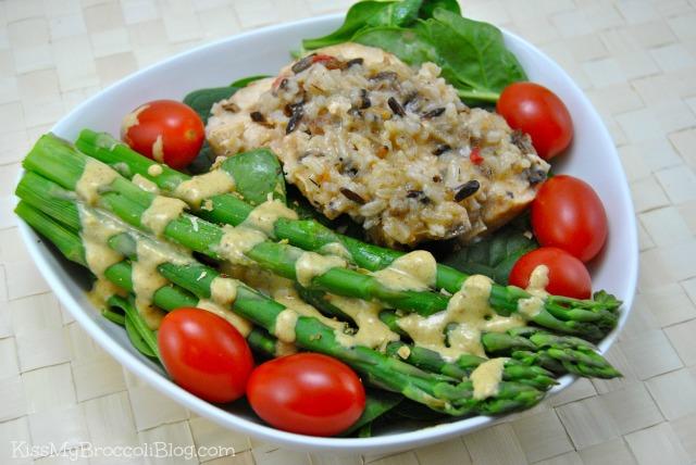 Chicken Asparagus & Tomatos