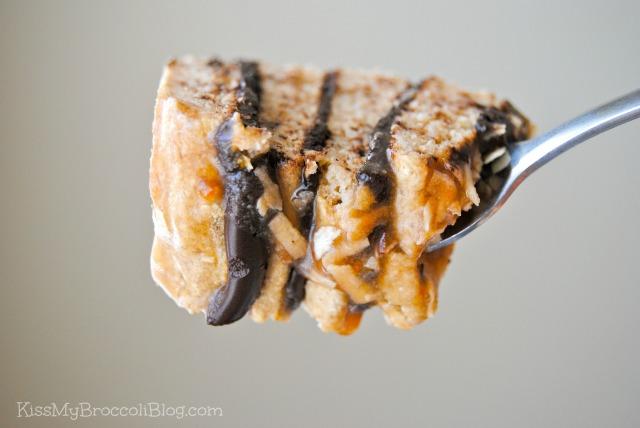Samoa Cookie Pancakes Bite