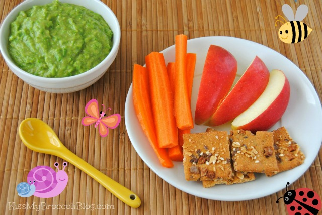 Sweet Pea Dip & Crunchables