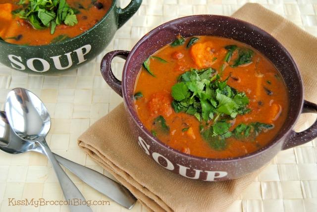 Sweet & Spicy Sweet Potato Soup-