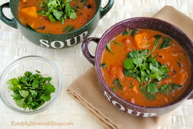 Sweet & Spicy Sweet Potato Soup.