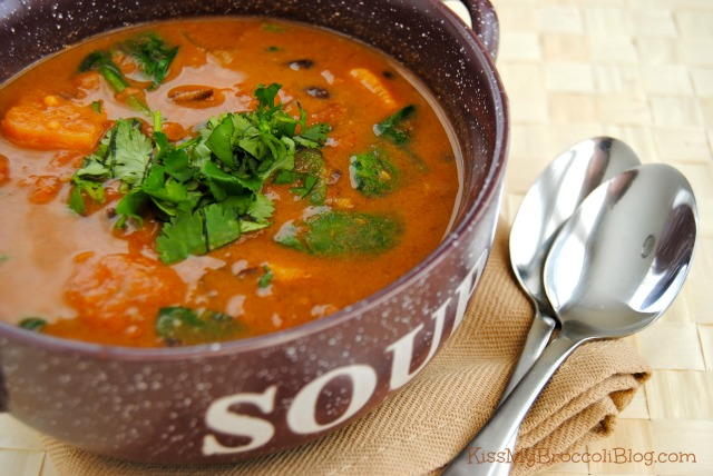 Sweet & Spicy Sweet Potato Soup