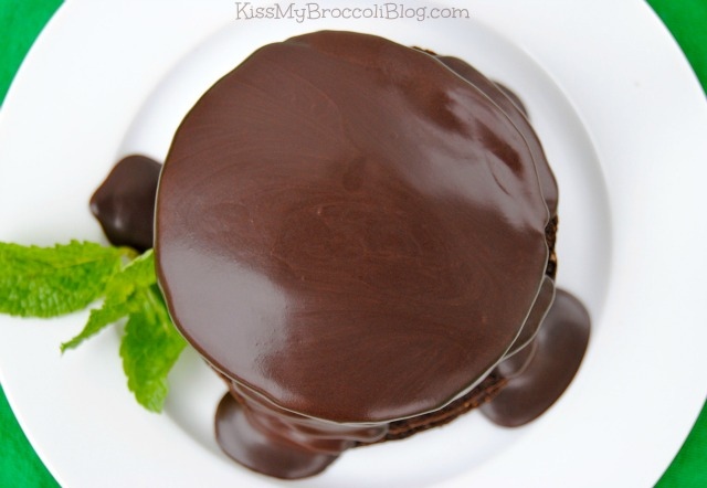 Thin Mint Cookie Pancakes 3