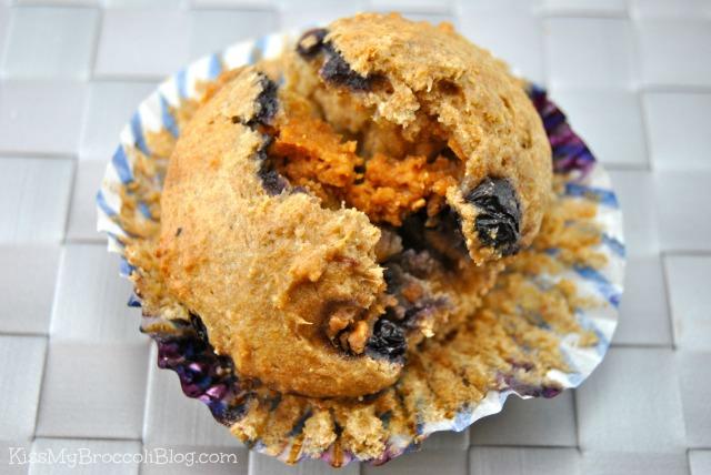 Blueberry PB Surprise Muffin