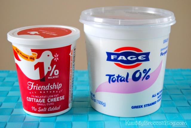 cottage cheese vs greek yogurt