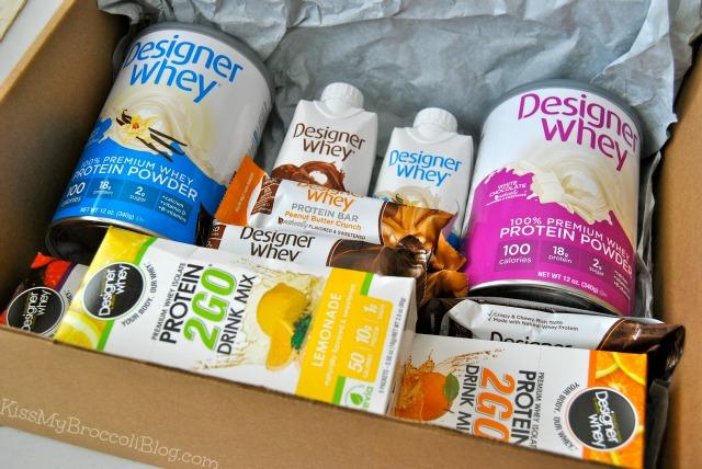 Designer Whey Package
