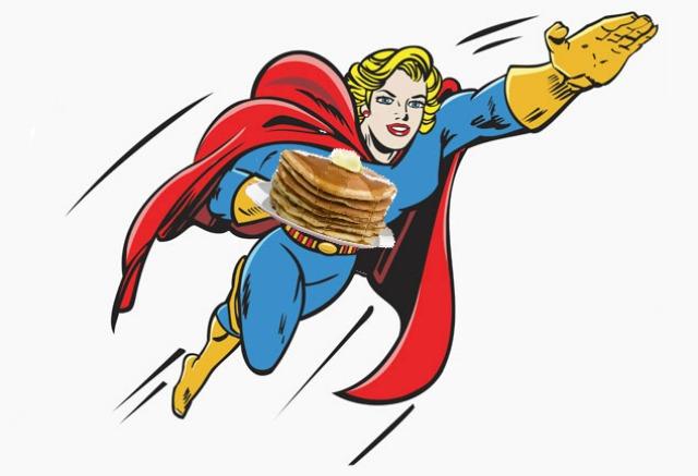Superhero Pancakes