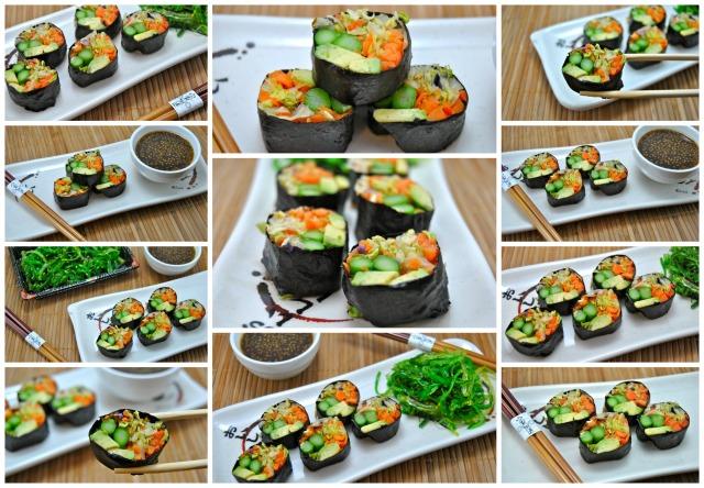 Sushi Collage