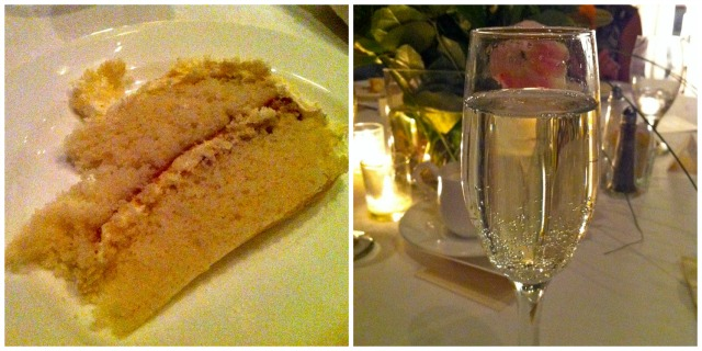 Wedding Cake & Champagne