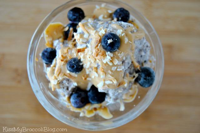 Blueberry Protein Ice Cream