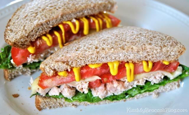 Tuna Melt with Mustard