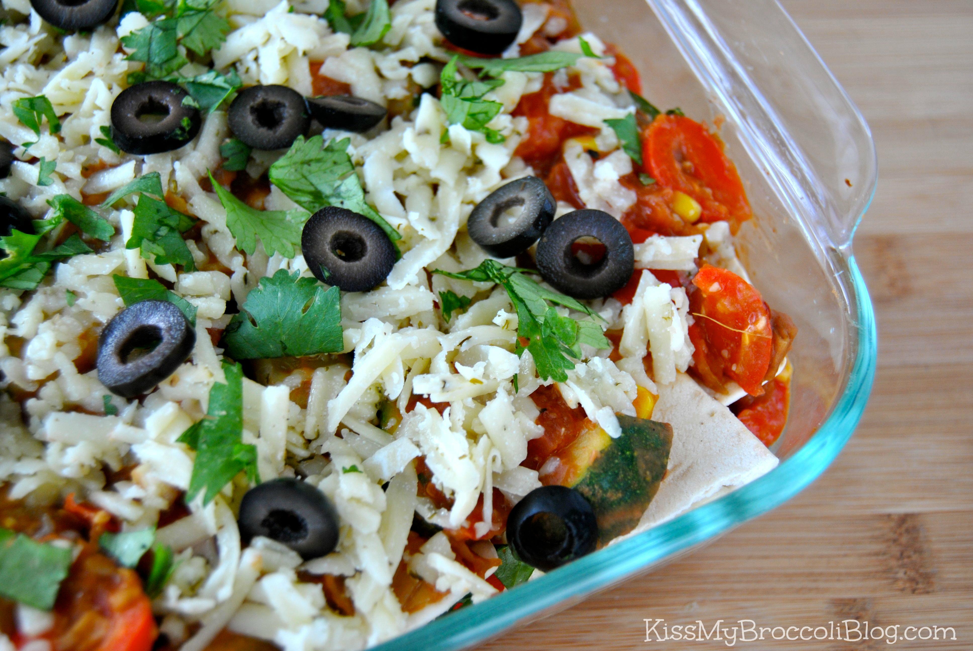 Veggie-fied Mexican Lasagna 3