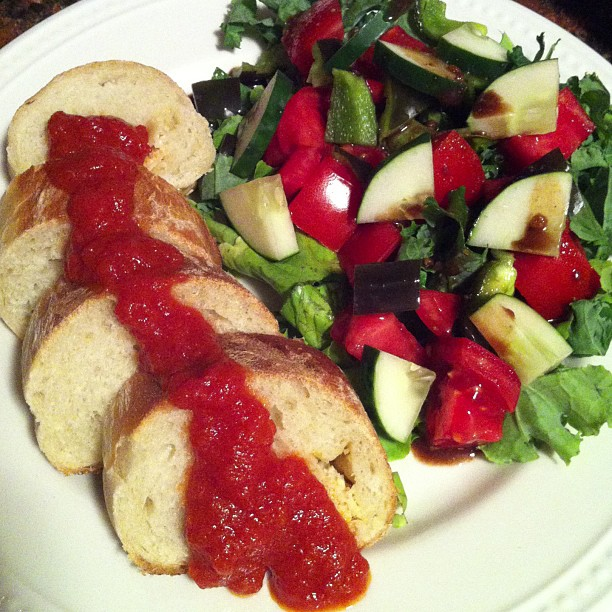 Baguette & Salad