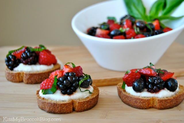 Berry Bruschetta 1