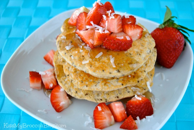 Coconutty Protein Pancakes