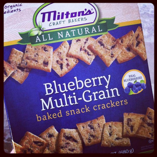 Blueberry Crackers
