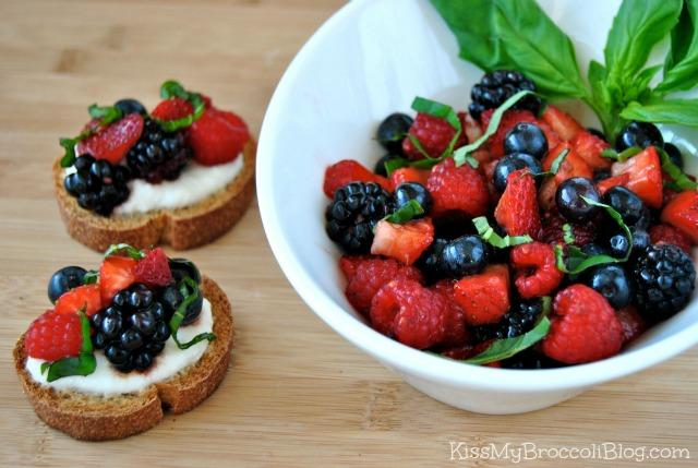 Berry Bruschetta 4