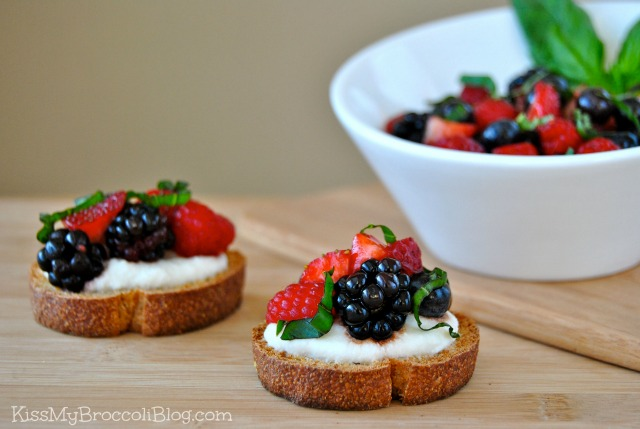 Berry Bruschetta 6