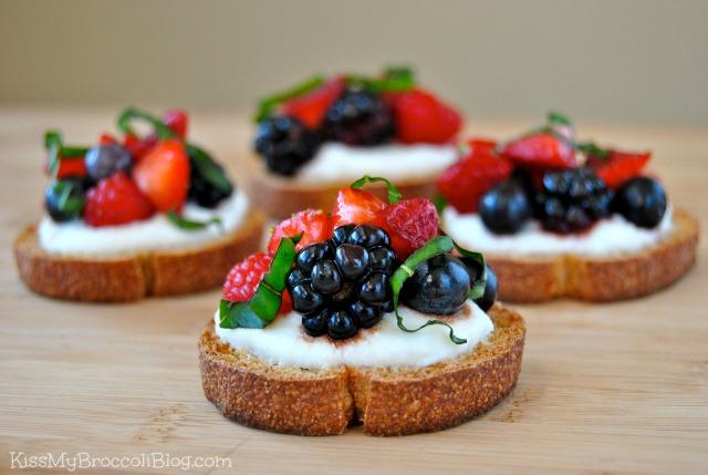 Berry Bruschetta 9