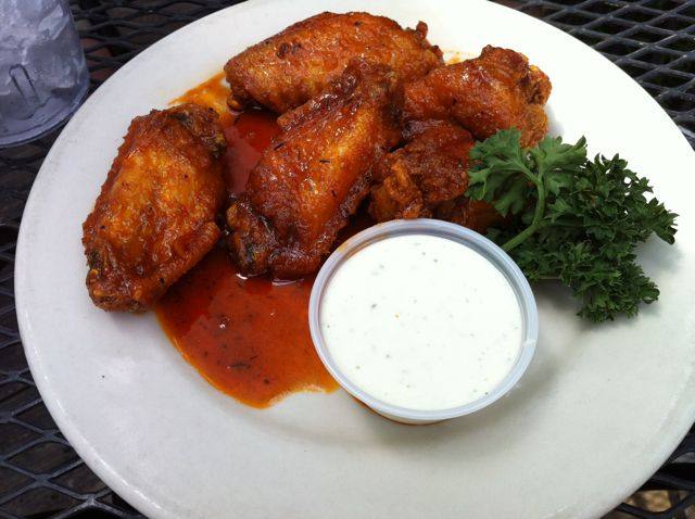 The Bayou Chicken Wings