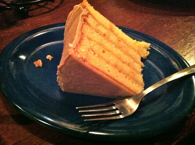 Central BBQ Caramel Cake