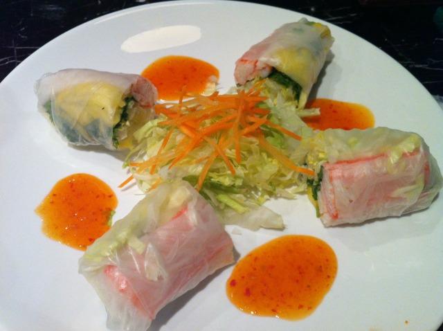 Sushi Train Summer Rolls