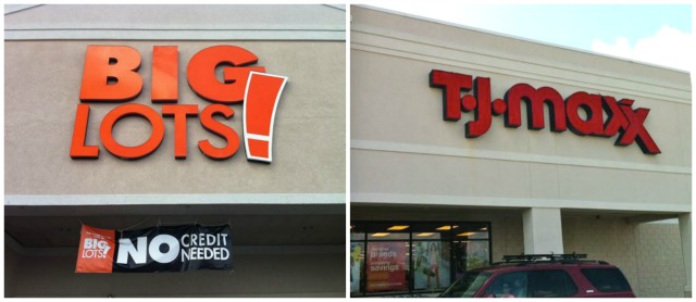 TJ Maxx & Big Lots