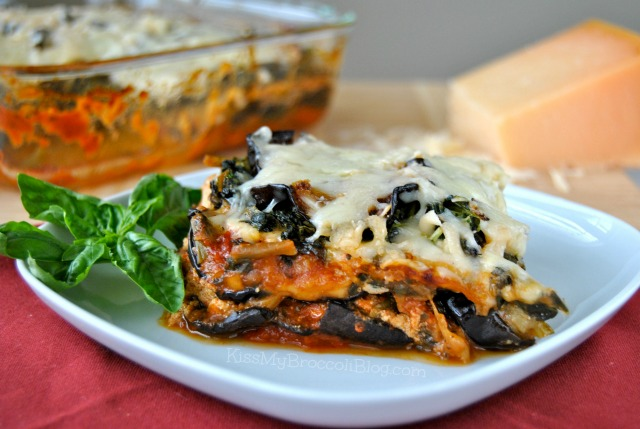 Eggplant Lasagna from Kiss My Broccoli