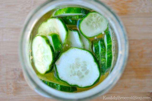 Fridge Pickles Jar